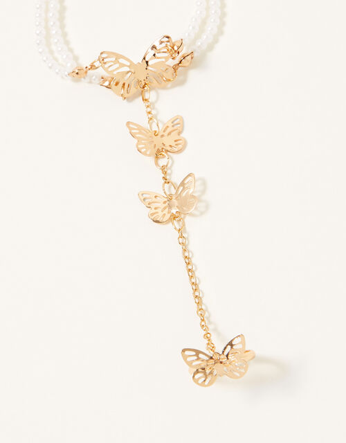 Flutter Butterfly Linked Ring and Bracelet, , large