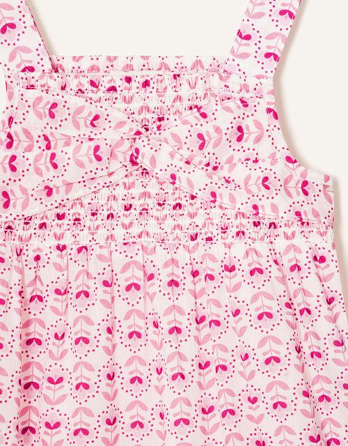 Baby Elsa Printed Playsuit, Pink (PINK), large
