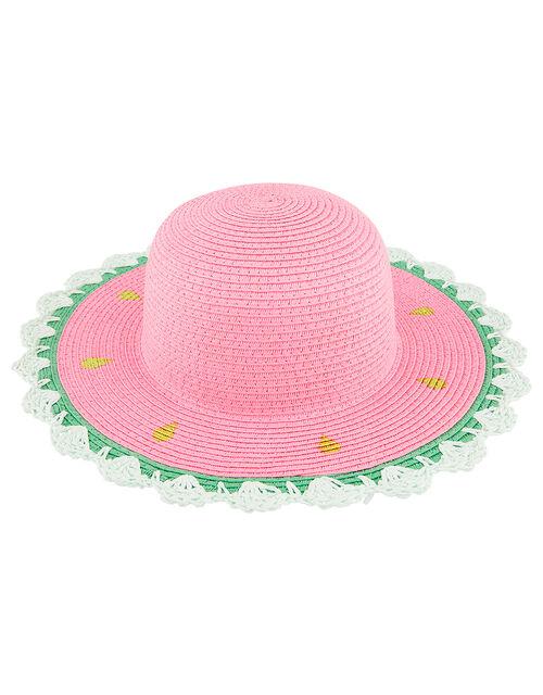 Jess Watermelon Floppy Hat, Multi (MULTI), large