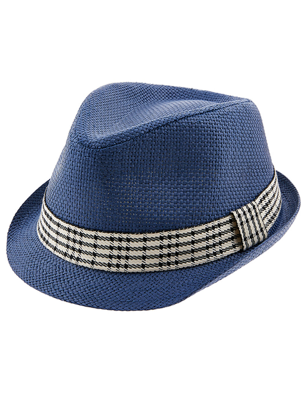 Billie Trilby Hat, Blue (BLUE), large