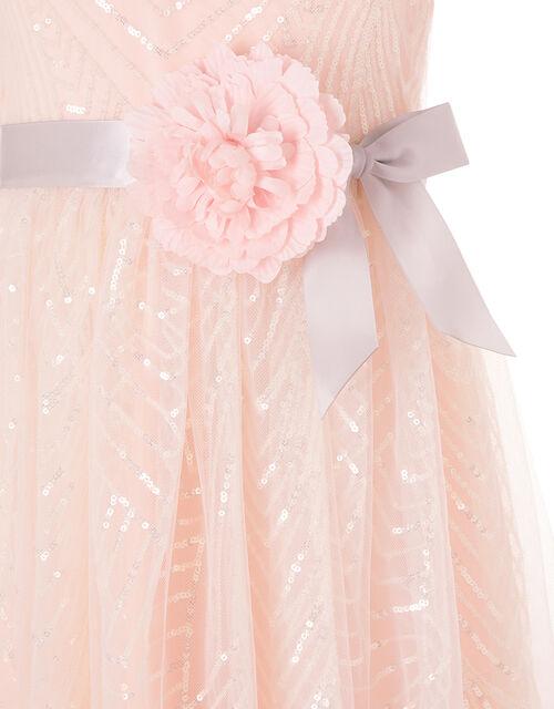 Sequin Pattern Dress, , large