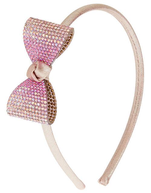Ombre Diamante Bow Headband , , large