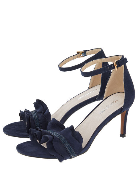 Fia Gem Kitten Sandals Blue, Blue (NAVY), large