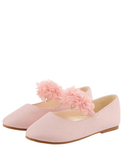 Baby Cynthia Corsage Walker Shoes Pink, Pink (PINK), large
