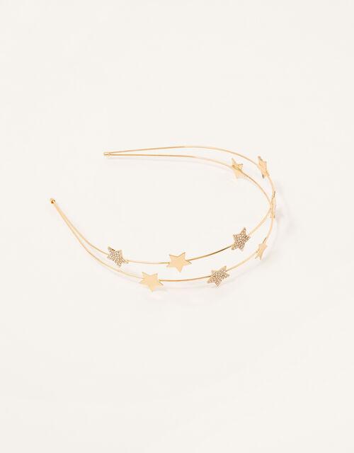 Split Star Headband, , large