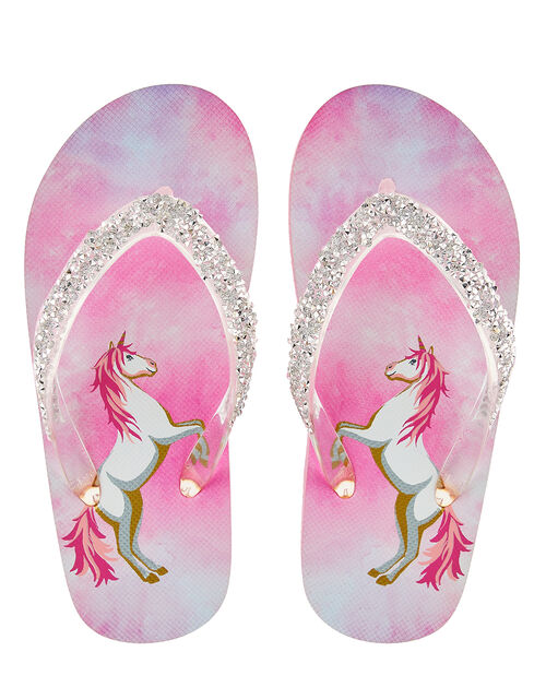 Alice Unicorn Flip Flops, Multi (MULTI), large