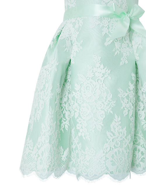 Valeria Lace Occasion Dress, Green (MINT), large