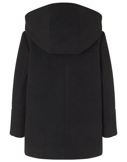Duffle Coat, Black (BLACK), large