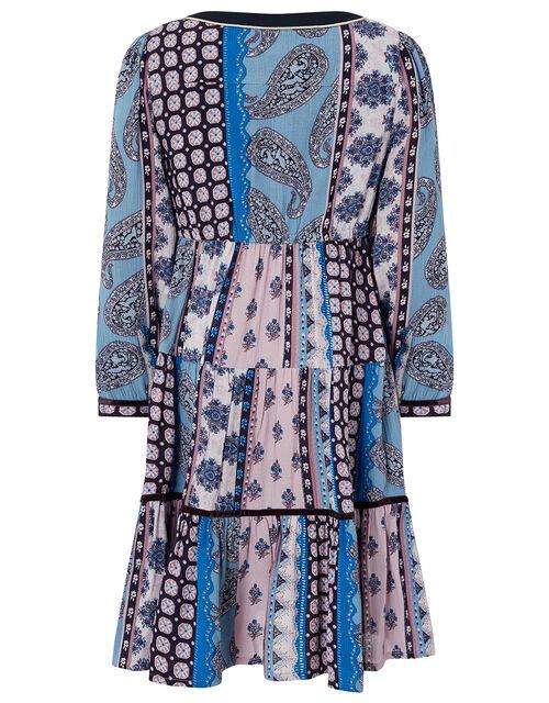 Leoni Mini Me Printed Dress in LENZING™ ECOVERO™, Multi (MULTI), large