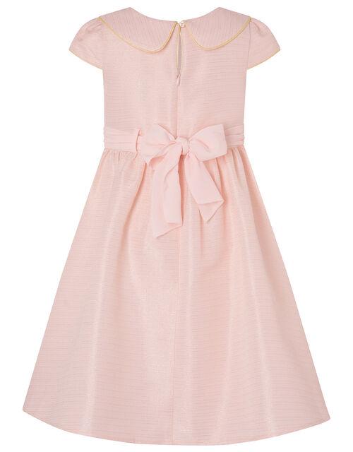 Collared Dress, Pink (PALE PINK), large