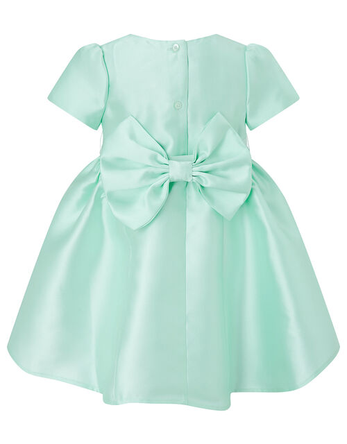 Baby Cynthia Corsage Dress, Green (MINT), large