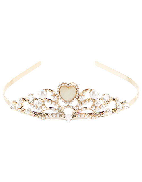 Macey Heart Tiara, , large