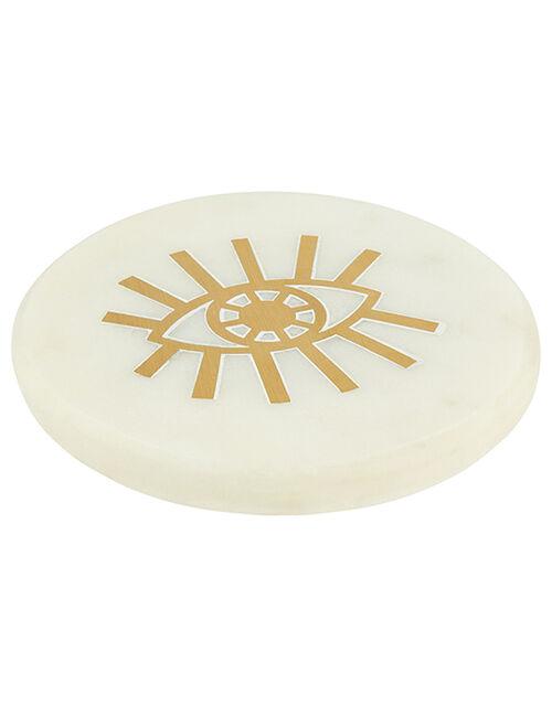 Eye Motif Marble Coaster, , large