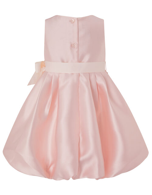 Baby Pearl Puffball Occasion Dress, Pink (PINK), large