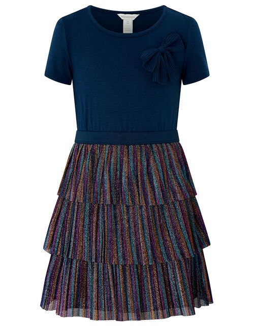 Rae Rainbow 2 in 1 Dress, Blue (NAVY), large