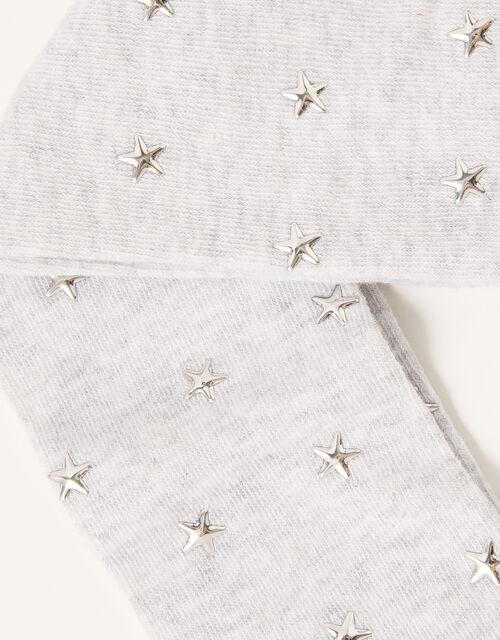 Star Stud Tights, Grey (GREY), large