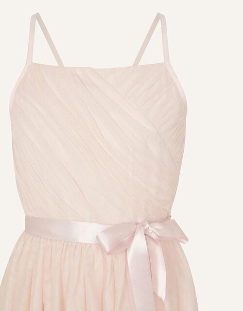 Lana Sequin Hem Maxi Prom Dress , Pink (PALE PINK), large