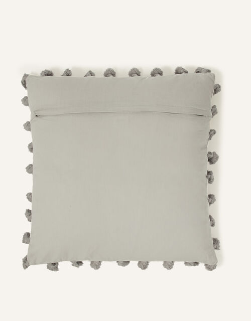 Moroccan Embellished Tassel Cushion, , large