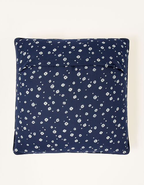 Printed Patchwork Cushion, , large