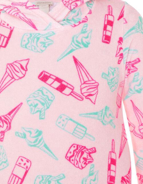 Baby Nina Ice Cream Towel Dress, Multi (MULTI), large