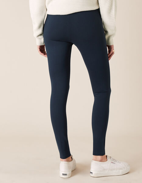 Military Button Treggings Blue, Blue (NAVY), large