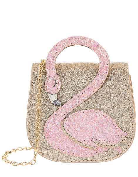 Flamingo Fun Sparkle Bag, , large