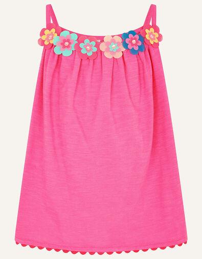 Fiesta Flower Cami  Pink, Pink (PINK), large