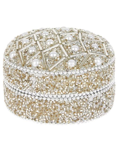 Embellished Pearl Pot, , large