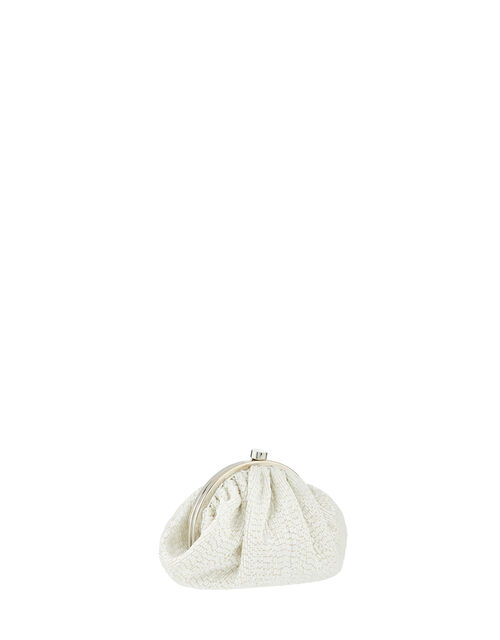 Beatrix Beaded Bridal Pouch, , large