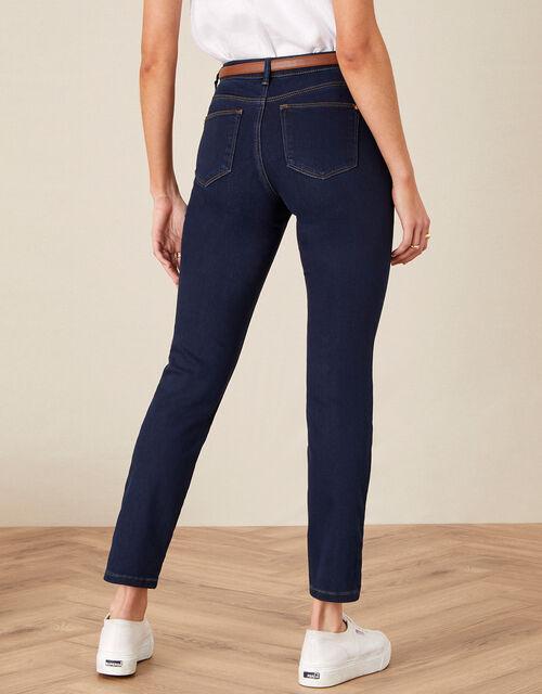 Azura Premium Regular Jeans with Sustainable Fabric, Blue (DARK BLUE), large