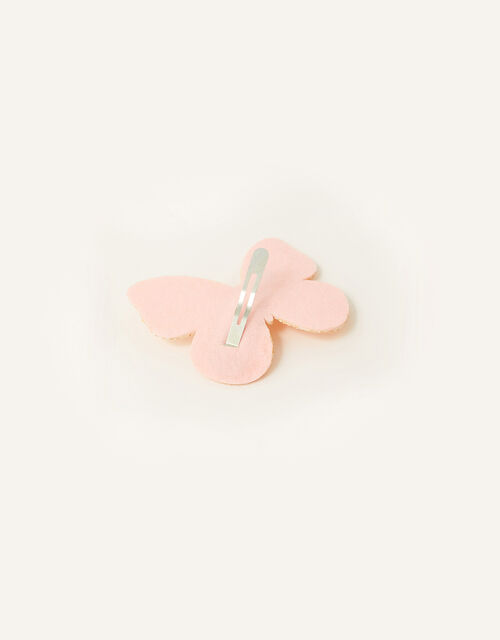 Glitter Butterfly Hair Clip, , large