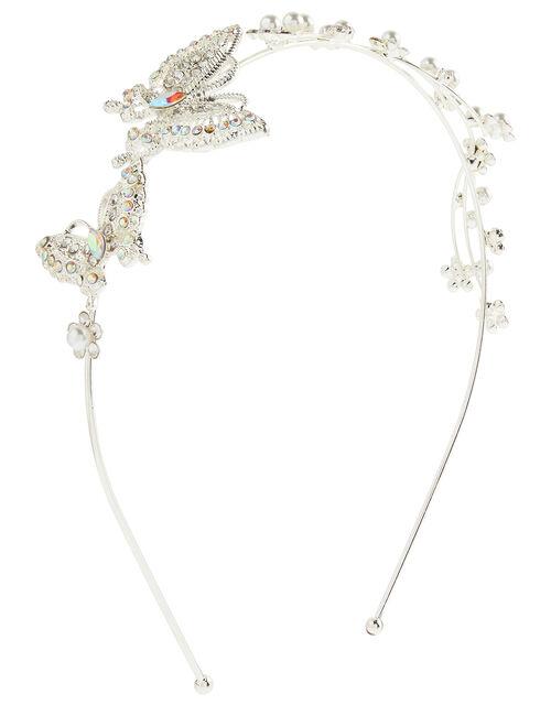 Chrissy Sparkle Butterfly Headband, , large
