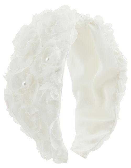 Macaroon Floral Wide Headband, , large