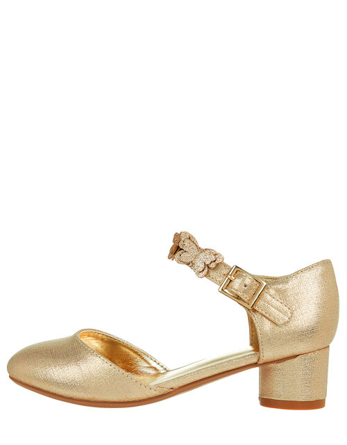 Savannah Butterfly Metallic Shoes, Gold (GOLD), large