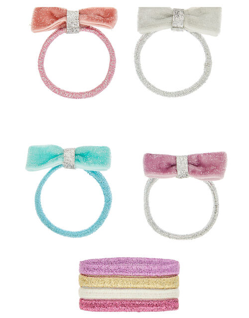 Shimmer Dust Bow Hair Band Multipack, , large