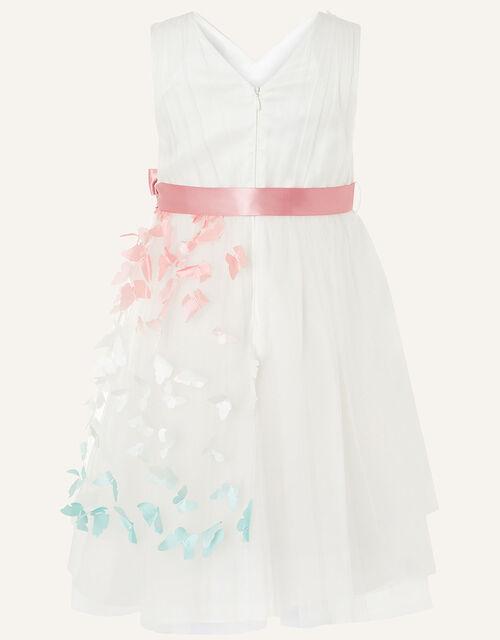 Eliza Ombre Butterfly Dress, Ivory (IVORY), large