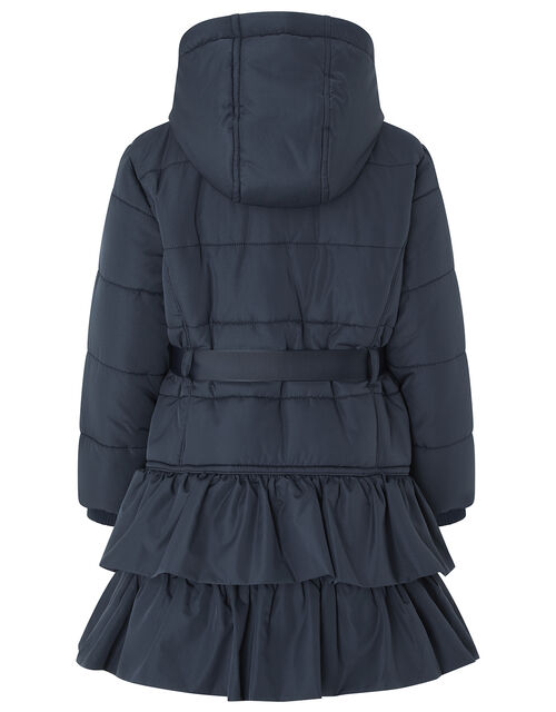 Ocean Padded Coat in Recycled Polyester, Blue (NAVY), large