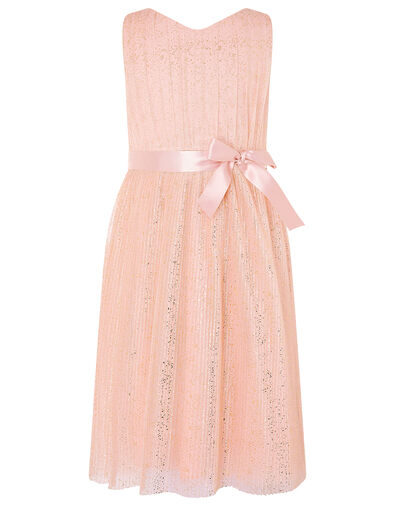 Glitter Tulle Wrap Dress Pink, Pink (PINK), large
