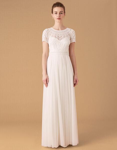 Beatrice Embellished Bridal Maxi Dress Ivory, Ivory (IVORY), large