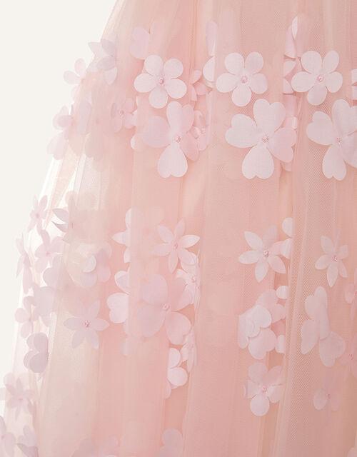 Jacquard Petal Dress, Pink (PINK), large