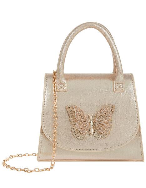 Savannah Glitter Butterfly Bag, , large