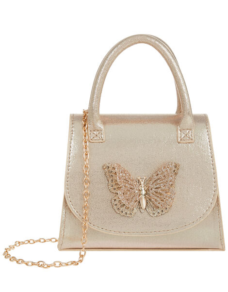 Savannah Glitter Butterfly Bag, , large