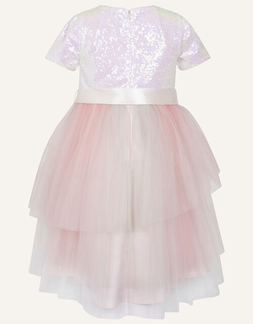 Prairie Sequin Rainbow Dress , Pink (PINK), large