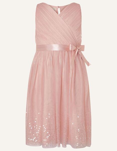 Lana Sequin Dress Pink, Pink (PINK), large