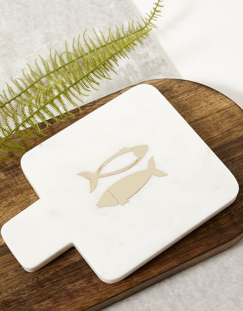 Small Fish Design Cheese Board, , large