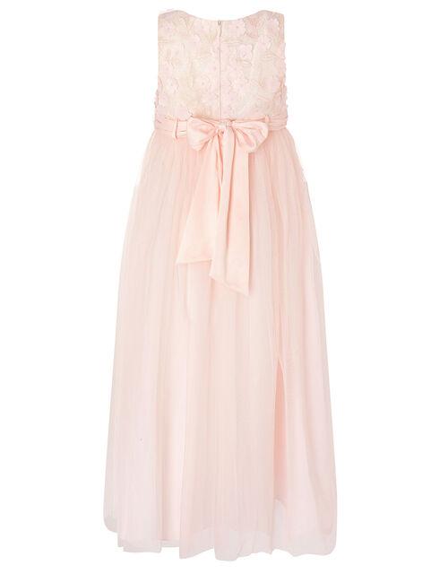 Petunia 3D Petal Maxi Dress , Pink (PALE PINK), large