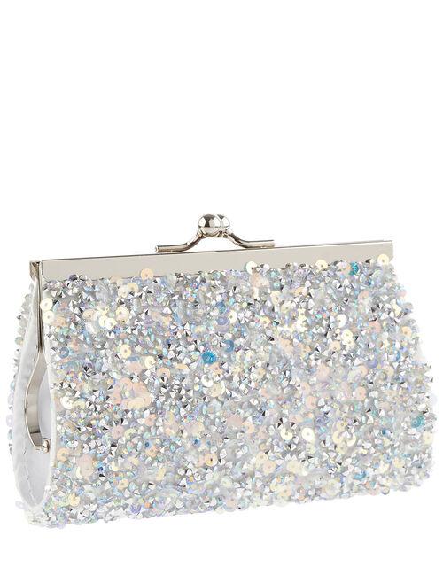 Dazzle Embellished Mini Bag, , large
