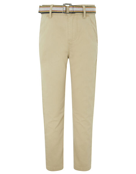 Stone Belted Chino Trouser Natural, Natural (STONE), large