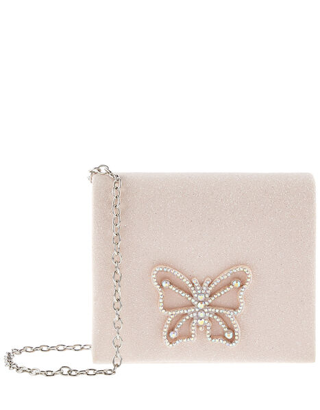 Diamante Butterfly Bag , , large