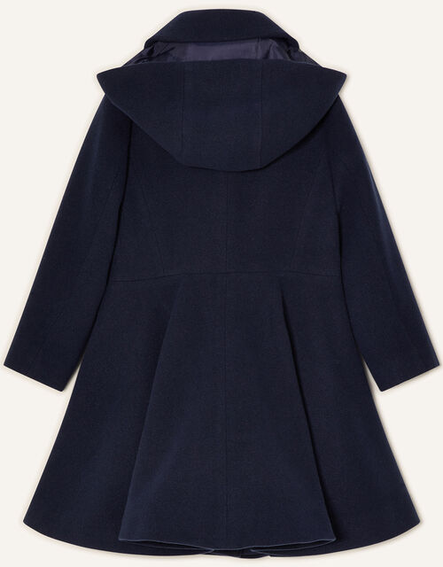 Back to School Hooded Coat Navy, Blue (NAVY), large